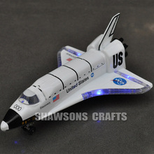 1:200 DIECAST PULL BACK MODEL TOY USA NASA SPACE SHUTTLE DISCOVERY COLUMBIA SOUND & LIGHT(China)