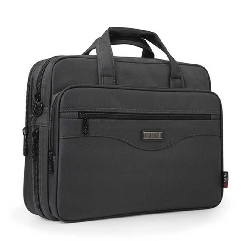 c78b5b497515 Новый деловой портфель сумка для ноутбука ткань Оксфорд многофункциональные  водонепроницаемые сумки деловые портфели мужские сумки на