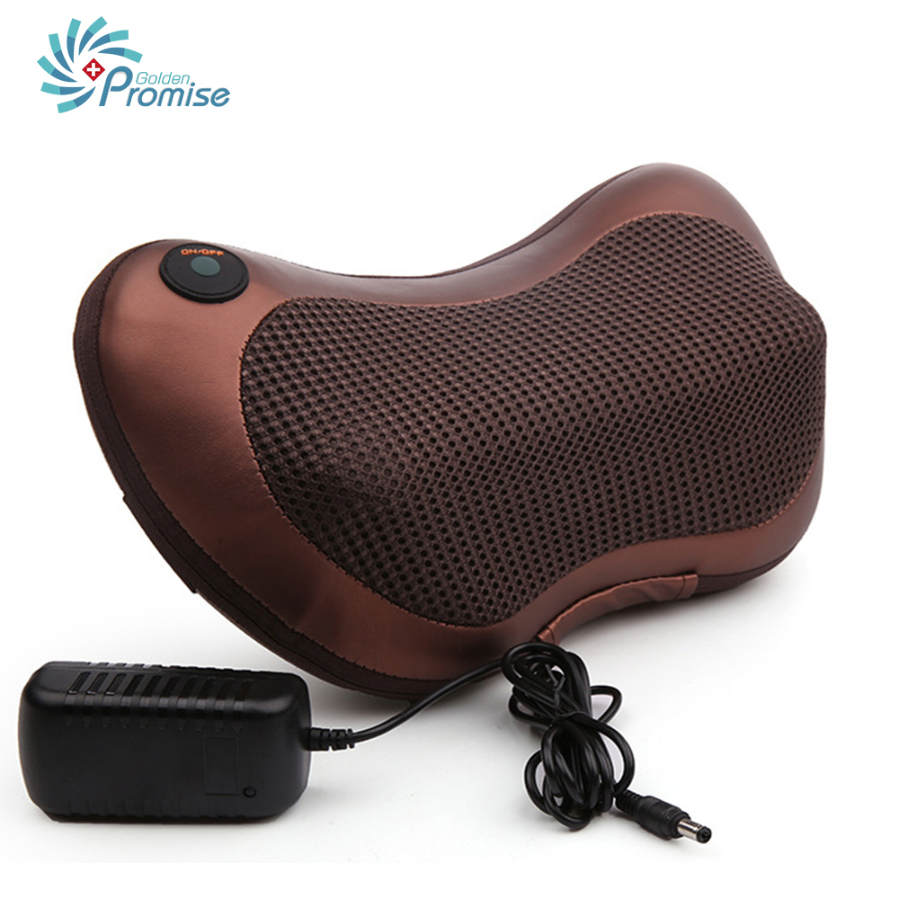 Portable Health Care Infrared Massage Pillow Car Home Heating Massage Pillow Neck Relaxation Foot Back Body Pain Relief Massager<br>