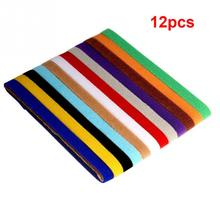 12PCS/Pack Pet Dog Cat Collars Pets Identification Flags Small Medium Large Various sizes(China)
