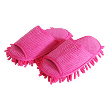 Dust Cleaner Grazing Slippers House Bathroom Floor Cleaning Mop Cleaner Slipper Lazy Shoes Cover Microfiber(China)