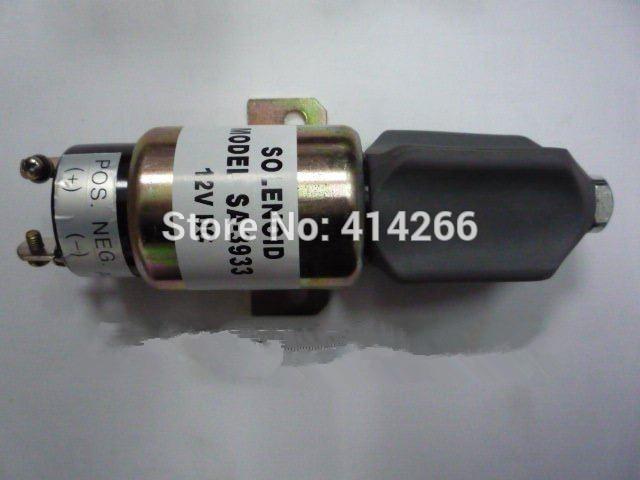 Stop Solenoid 1751-12E7U1B1S1A 1700-2507 12VDC (3 terminals)<br>