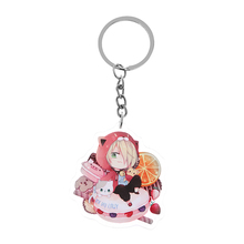 1 Pcs Vogue Anime Yuri On ICE Victor Nikiforov Acrylic Key chain Keyring Pendant Cosplay Phone Bag Pendant Hang Chain Gift(China)