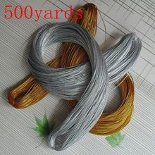 Gift Box Packing Gold Silver Beading Cord String Thread 16 Colors 1mm DIY for Wedding Party Tag Accessories 500 yards/lot