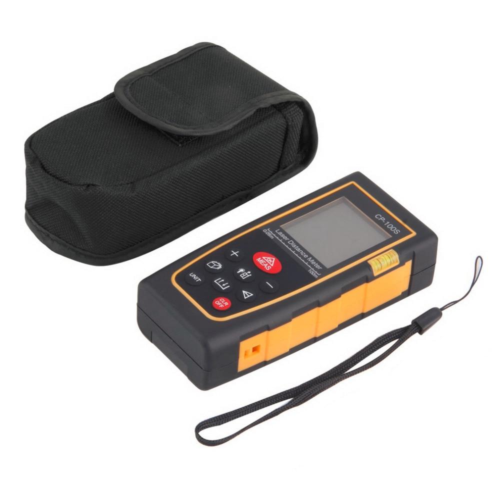 2017 Newest Handheld Digital Laser Distance Meter Range Finder Measure Diastimeter Tester Tool Area/Volume M/in/Ft Portable<br>