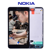 Original For NOKIA Lumia 630 LCD Touch Screen with Frame For NOKIA Lumia 630 Display Digitizer Assembly Replacement Parts N630(China)