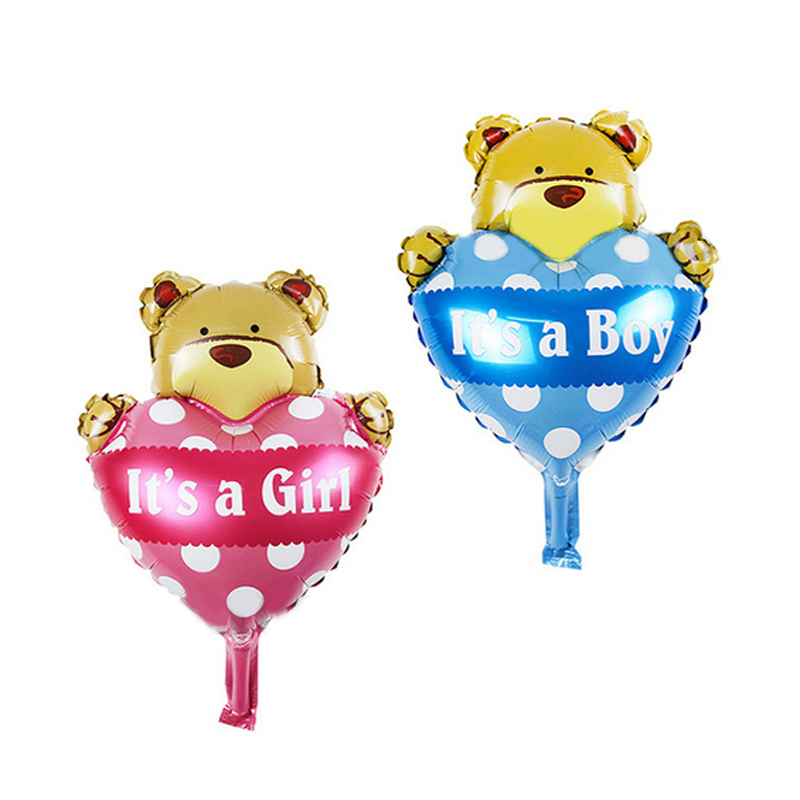 5pcs/Set Funny Children Aluminum Foil Helium Balls Baby Boys Girls Shower Air Balloons Birthday Decoration Party Supplies Gifts(China)