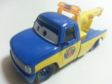 Disney Pixar Cars Race Tow Truck Tom Metal Diecast Toy Car 1:55 Loose Brand New In Stock & Free Shipping(China)