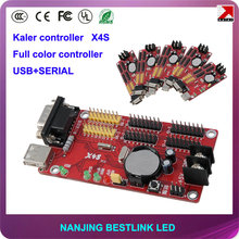 LED controller card X4S 64*1024 pixel led control card with led display module rgb led panel led car sign electronic scoreboard