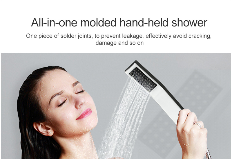 Luxury 20 Inches High Flow Stainless Steel Ceiling Shower Heads Thermostatic Mixer LED Shower Faucet (22)