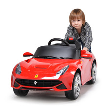 2017 New Hot 6V Kids Electric Ride On Car Toy Four Wheel Vehicle Drive Battery Powered Ride with Remote Controller&LED Lights