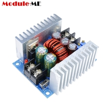 300W 20A DC Buck Converter Step Down Module Constant Current LED Driver Power Voltage Board Heat Sink Short Circuit Protection(China)