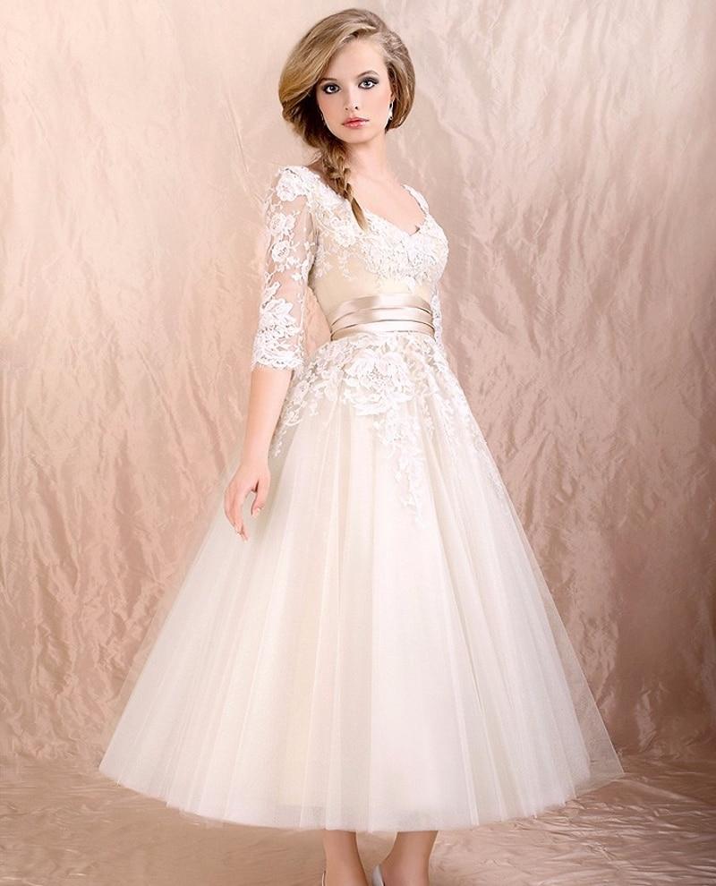 Свадебные платья на низких девушках