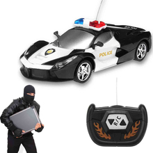 Buy Boy Toys 2CH Police RC Car Model Baby Toys 2 Channels Remote Control Car Micro Racing Cars Kids Gifts Toys Children for $8.99 in AliExpress store