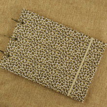 Leopard plush handmade diy album scrapbook stick style 25 sheets 50P black cards photo storage best photo albums book photos