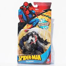 "1Pcs Spiderman Figure Spider Man Venom PVC Action Figures Loose Toy 6"" 18CM Free Shipping"