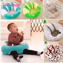2017 Baby Sofa Support Seat Dining Chair Sofa Safety Cotton Plush Travel Car Seat Pillow Cushion 35cm