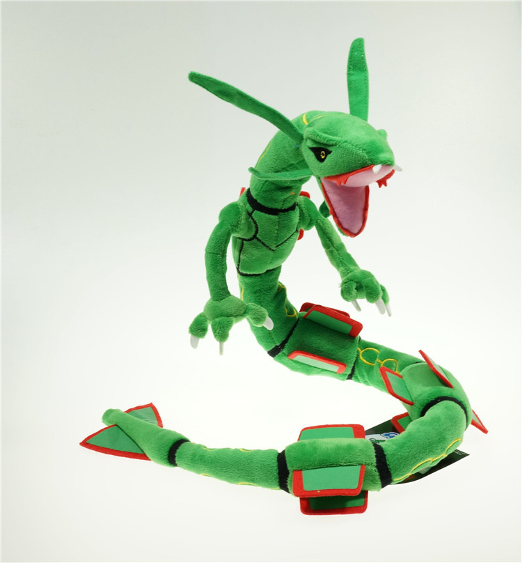 Sytopia Rayquaza Plush Doll Toy Free Style Action Figure Cotton Anime Toy Soft<br><br>Aliexpress