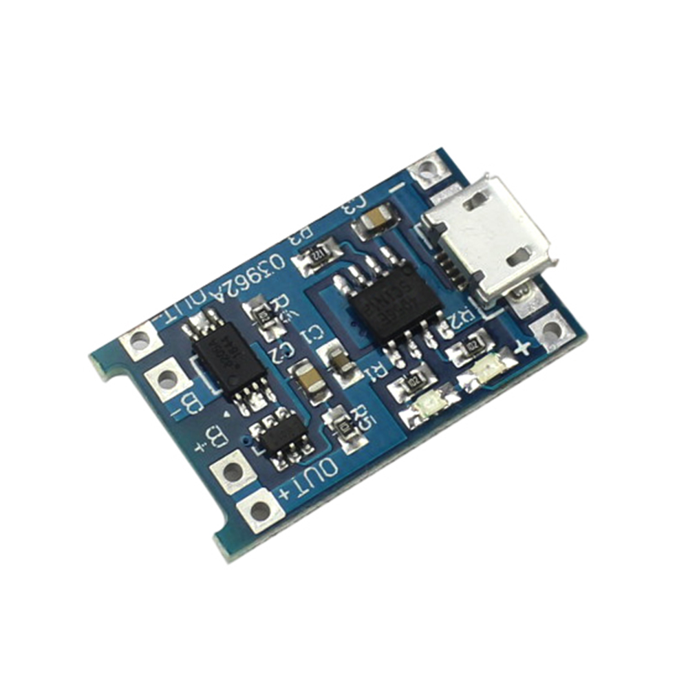 5pcs 5V Micro USB 1A 18650 Lithium Battery Charging Board Protection Charger Module arduino Diy Kit