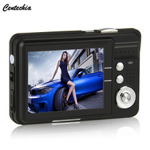 Centechia 2.7 inch TFT LCD 18MP Digital Camera HD720P Photo Video Camcorder 8XZoom Anti-shake DV LED Fill Light Non-touch Camera