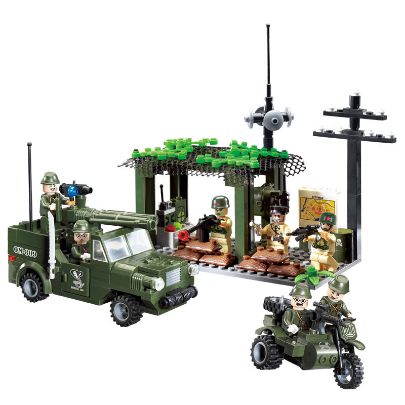 model building kits compatible with lego city army 1038 3D blocks Educational model &amp; building toys hobbies for children<br><br>Aliexpress