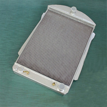56MM ALUMINUM ALLOY RADIATOR For CHEVY CAR STREET ROD AUTO 1940-1941(China)