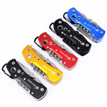 5 Colors High Quality Swiss Knife Outdoor Camping Survival Army Folding Knife Multifunctional Tool Pocket Knife EDC new cool(China)