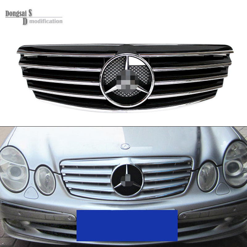 Popular mercedes mesh grill buy cheap mercedes mesh grill lots from china mercedes mesh grill