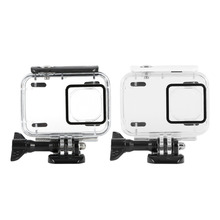High Strength Sport Camera Waterproof Diving Housing Case With Base For Xiaomi Yi 2 4k