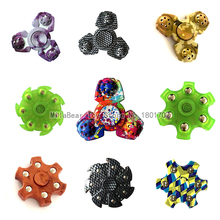 Cool Color Hand Spinner Fidget EDC ADHD Focus Toys Rainbow Stress Wheel Fidget Dice Keep Hand Busy For Anxiety Anti Stress Toys