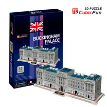 3D models toy Cubic Fun 3D paper model jigsaw game Buckingham Palace c123h
