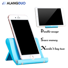 ALANGDUO Hot Durable Lazy Phone Holder Universal Table Bracket Cellphone Stand Mobile Phone Support For Xiaomi Redmi 4 Pro
