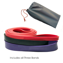 Latex Resistance Bands Exercise Strap Bands Best Loop Power Pull-up Bands for Strength and Weight Training 3 Levels Resistance