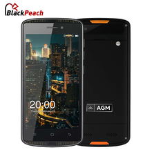 AGM X1 MIni IP68 Waterproof Phone 5.0 inch IPS Android 6.0 Qualcom Quad Core 2GB RAM 16GB ROM 4000mAh 8MP NFC OTG 4G Smartphone