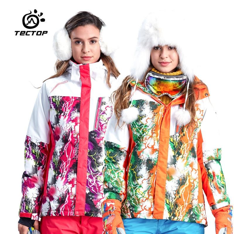 Professional Skiing Jackets Women Waterproof Warm Winter Outdoor Snow Sportwear Women Snowboarding Ski Jacket Brand<br><br>Aliexpress