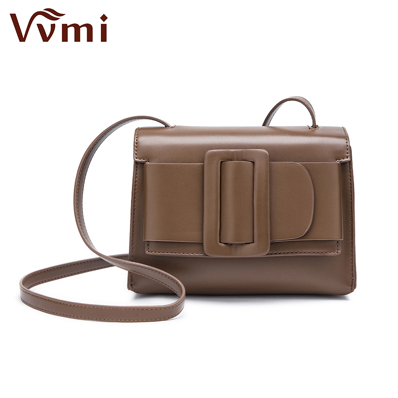 Vvmi bolsos women handbags chic vintage belt buckle bags single shoulder crossbody handbags brand designer<br>