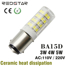 ba15d led base bulb bayonet light lamp dimmable 110V-120V 220V 3W 4W 5W replace 25W 30W 35W