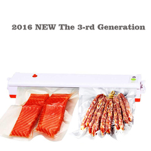 49 Real Rushed Ce Vacuo Vacuum Sealer Ru Shipping Automatic 220v Electric Vacuum Food Sealer Sealing Machine Packaging