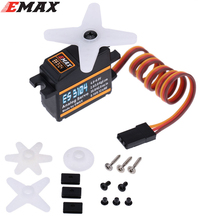 4 x EMax ES3104 17g Metal Gear Analog Servo for RC Fixed-wing Copters (ES08A ES08MA ES08MD wholesale)(China)