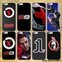 jorge lorenzo lorenzo 99 Logo red X design transparent clear Case Cover for Apple iPhone SE 5s 7 7Plus 6 6s Plus 5 4s
