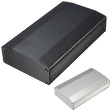 Aluminum Case Box For Circuit Board Electrical Connector DIY Shell Shied Enclosure For Electronic Projecter Power Supply Units(China)
