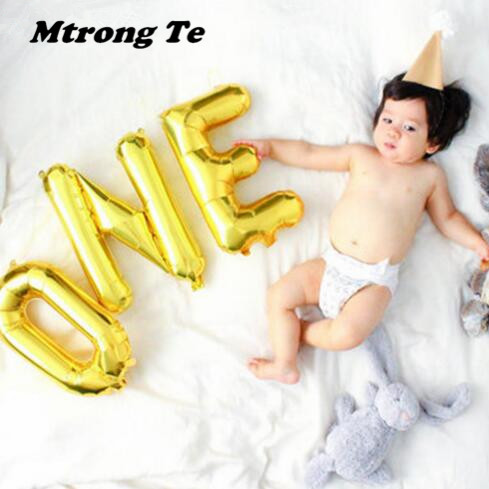 1set-16inch-Rose-gold-Wild-One-One-Foil-Balloon-Baby-Shower-1th-Birthday-Party-Decoration-Kids (1)