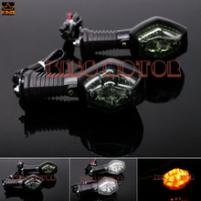 Motorcycle Accessories LED Turn Signal Indicator Light Blinker Lamp Smoke For SUZUKI SV 650/1000N/S GSX-R 600 /750/1000