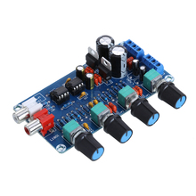 Buy New Arrival NE5532 OP-AMP HIFI Amplifier Preamplifier Volume Tone EQ Control Board DIY Kits AC 12V Amplifiers for $6.55 in AliExpress store