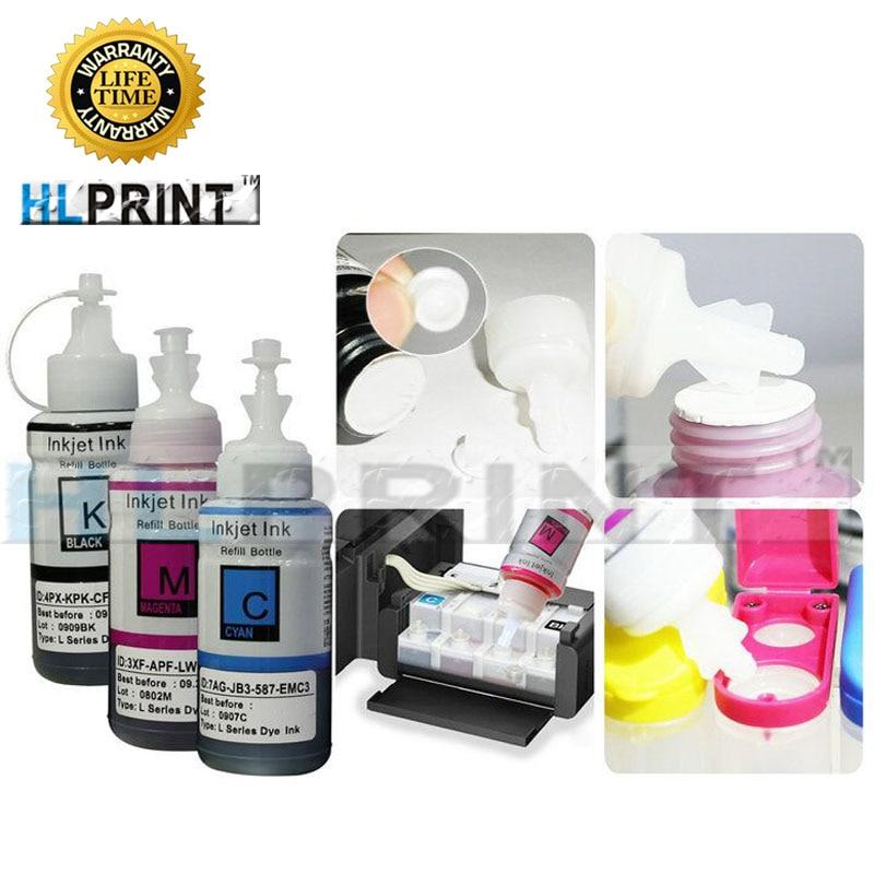 100ML Ink Refill Kit compatible EPSON L800 L805 L810 L850 L1800 L351 L350 L551 printer ink T6731 T6732 T6733 T6734 T6735 T6736100ML Ink Refill Kit  EPSON L800 L805 L810 L850 L1800 L351 L350 L551 printer ink