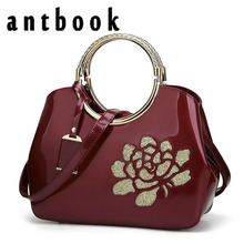 ANTBOOK 2017 Fashion Printing Women Handbag tote High Quality Pu Leather Women Messenger Bags Large Capacity Girls Shoulder Bags