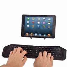 Portable Keyboard Foldable Wireless Bluetooth Keyboard for Android for iOS Windows Computer Gaming Keyboard For PC Laptop Phone