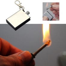 New Survival Camping Emergency Fire Starter Match Lighter KeyChain Outdoor