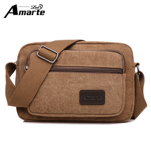 New Arrival Men Canvas Messenger Bag Casual Travel Fashion Single Shoulder Bags Brand Men's Crossbody Bag Business Male Bag