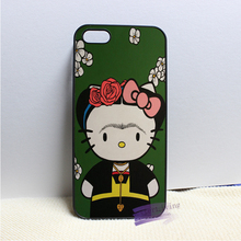 Frida Kahlo hello kitty  fashion cell phone case cover for iphone iphone 4 4s 5 5s 5c SE 6 6s plus 7 plus #LI0325